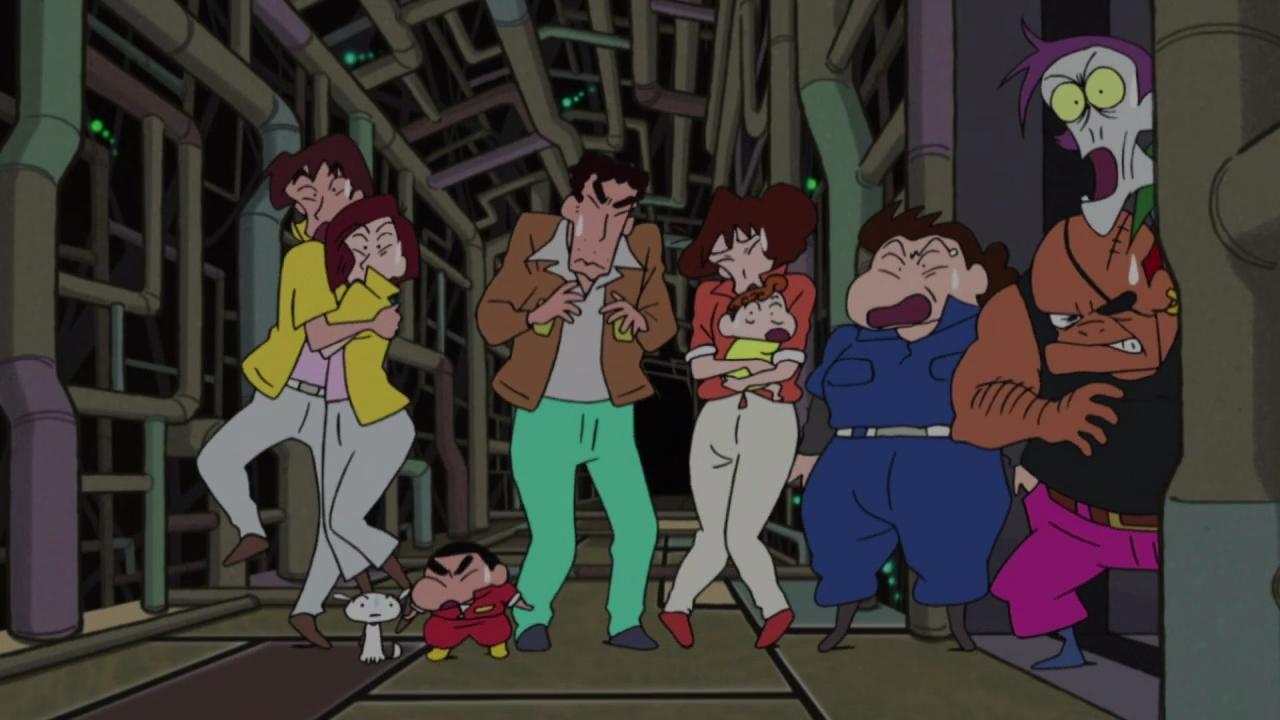 Alien vs Shinnosuke – 01 [720p]